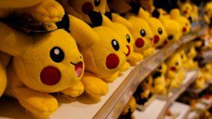 Pikachu del juego Pokemon Go