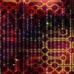 Código binario vertical