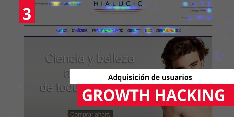 Growth Hacking: adquisición de usuarios