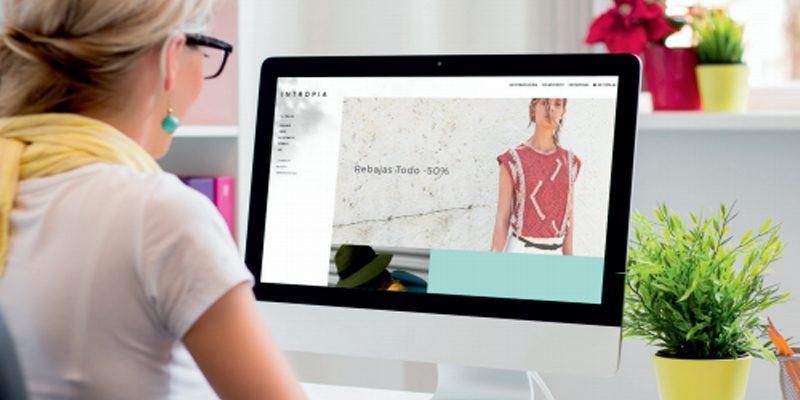 Comercio electrónico de Intropia, plataforma alojada en Sarenet