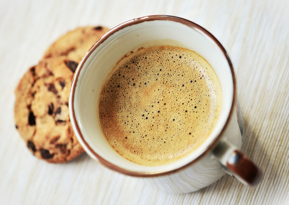 Café con galletas