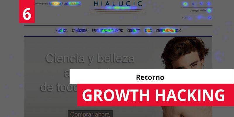 Growth Hacking 6: Retorno