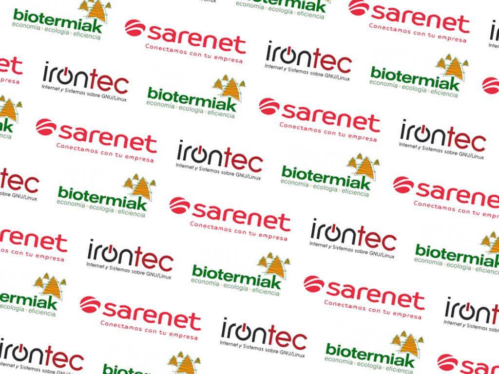 Sarenet, Irontec y Biotermik