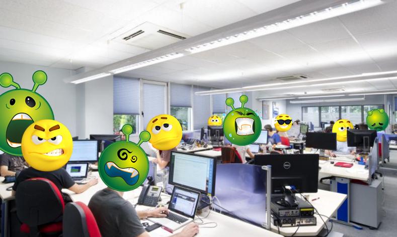 Personas trabajando en Telecomunicaciones