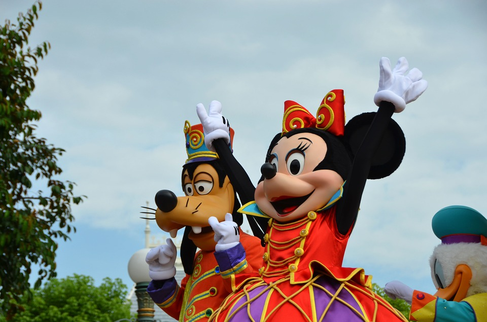 Goofy y Mickey Mouse