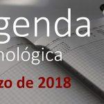 Agenda TIC de marzo