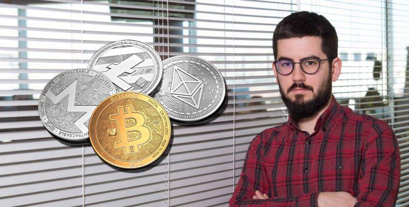 Raúl Marcos, experto en criptomonedas
