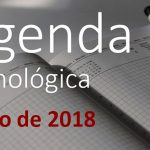 Agenda tecnológica de mayo de 2018
