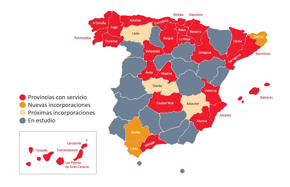 Fibra Óptica para empresas en España