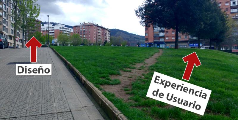 Diseño vs. Experiencia de Usuario (UX)