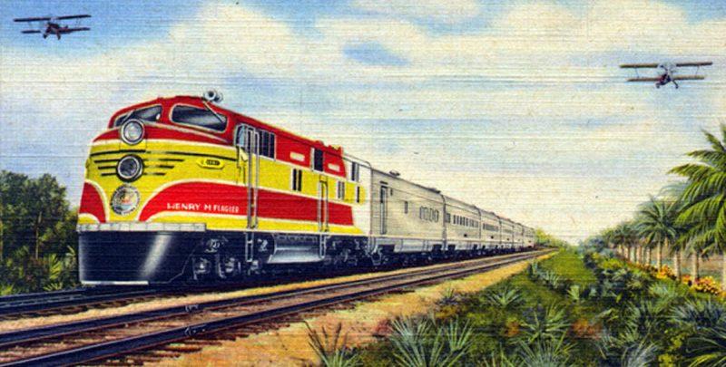 Tren de la costa Este. Florida