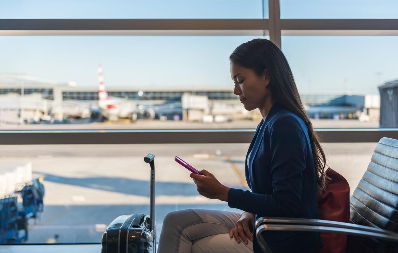 Wi-Fi aeropuertos y hoteles