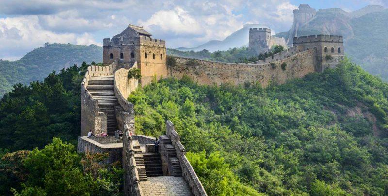 Muralla china como metáfora de la seguridad para endpoints.