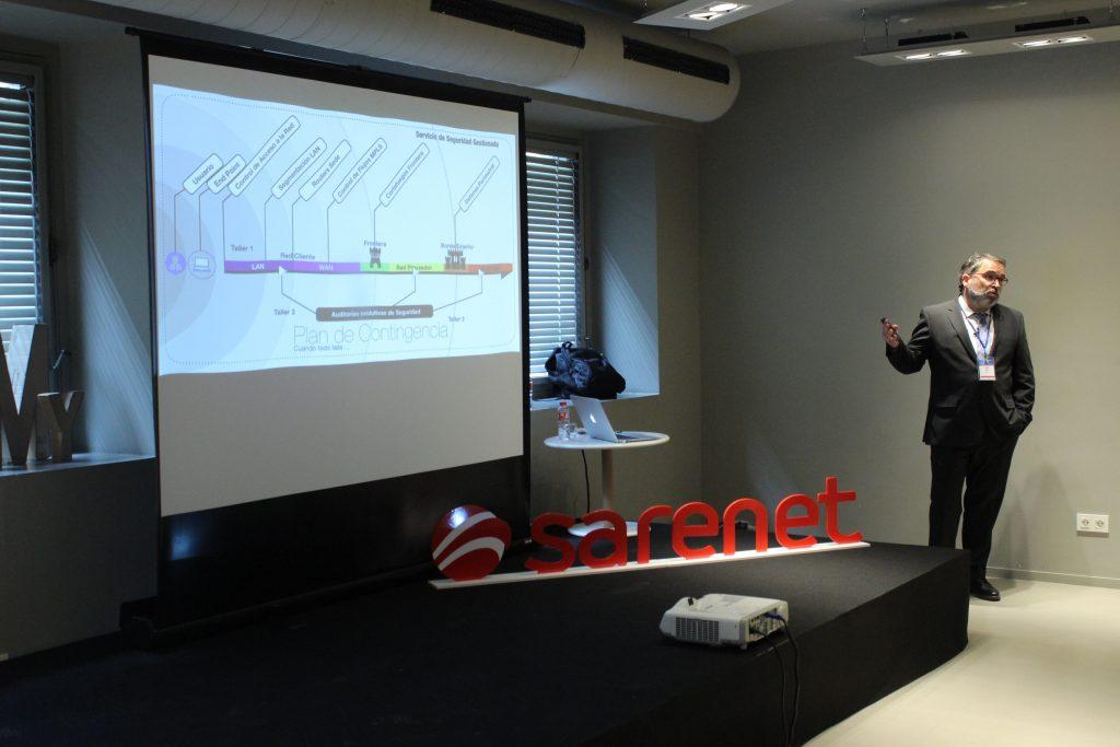 Aitor Jerez explica la solución de Seguridad Gestionada